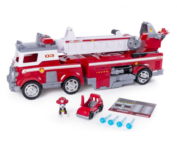 Spin Master Psi Patrol Wielki wóz strażacki  - 509033 - zdjęcie