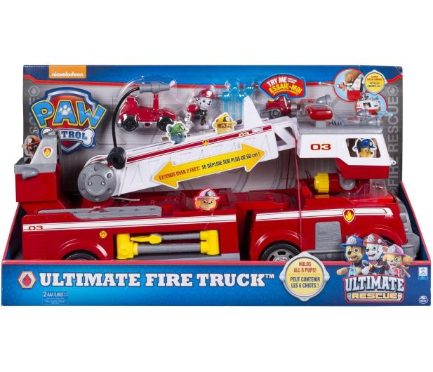 Spin Master Psi Patrol Wielki wóz strażacki  - 509033 - zdjęcie 5