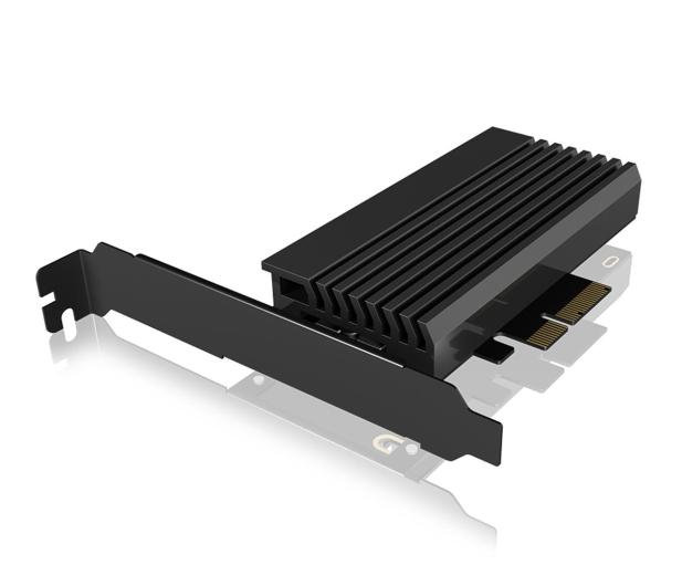 ICY BOX Karta PCIe M.2 M-Key dla 1 dysku SSD M.2 NVMe - 507184 - zdjęcie
