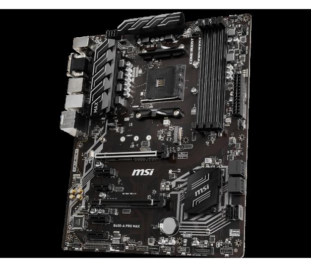 MSI B450-A PRO MAX - 508076 - zdjęcie 2
