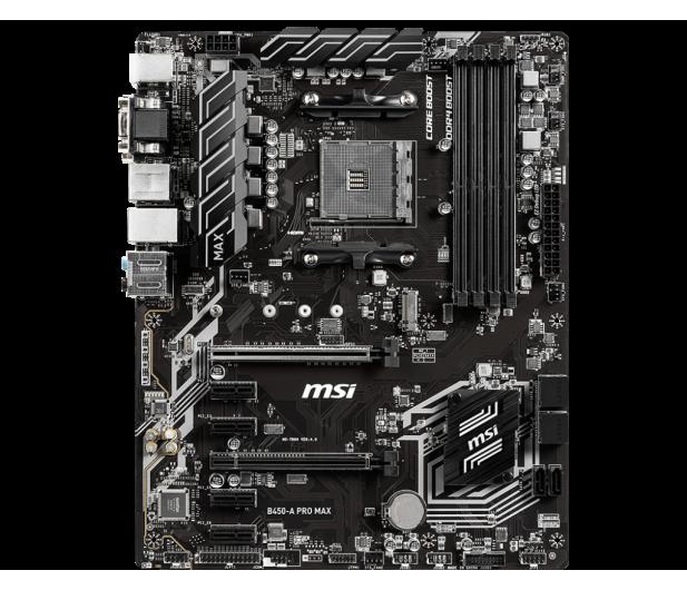MSI B450-A PRO MAX - 508076 - zdjęcie 3
