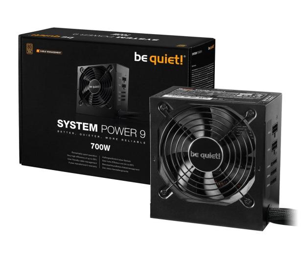 be quiet! System Power 9 CM 700W 80 Plus Bronze - 509253 - zdjęcie