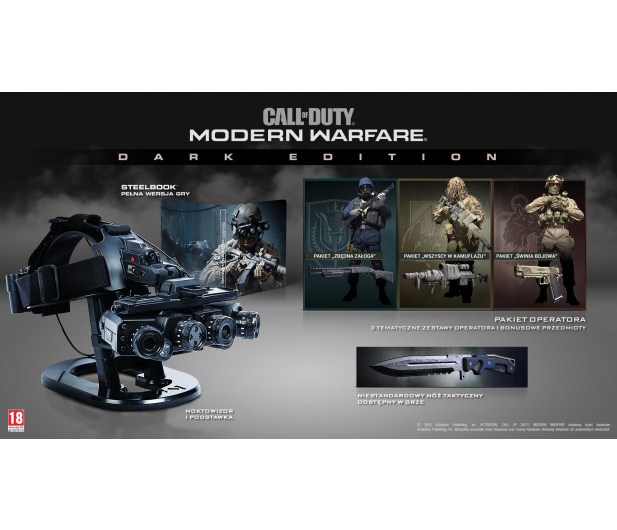 Call of Duty: Modern Warfare Dark Edition - 509550 - zdjęcie 3