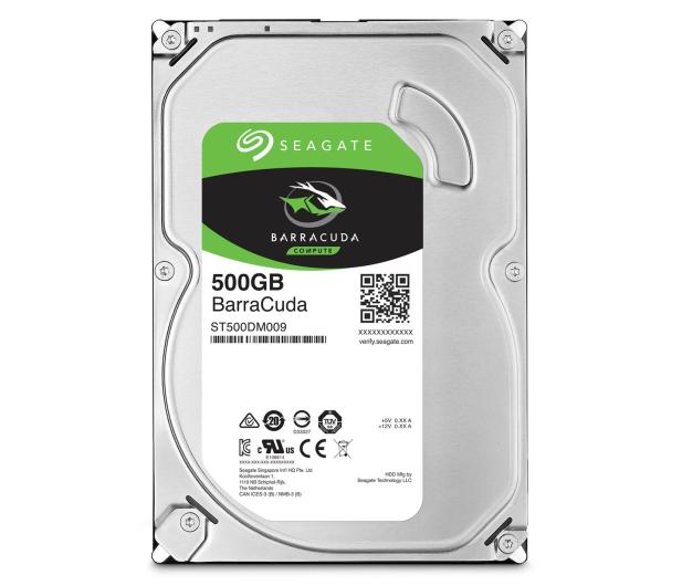 Seagate BARRACUDA 500GB 7200obr. 32MB  - 320809 - zdjęcie 4
