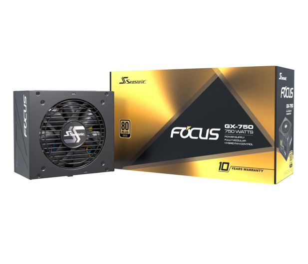 Seasonic Focus GX 750W 80 Plus Gold  - 514792 - zdjęcie