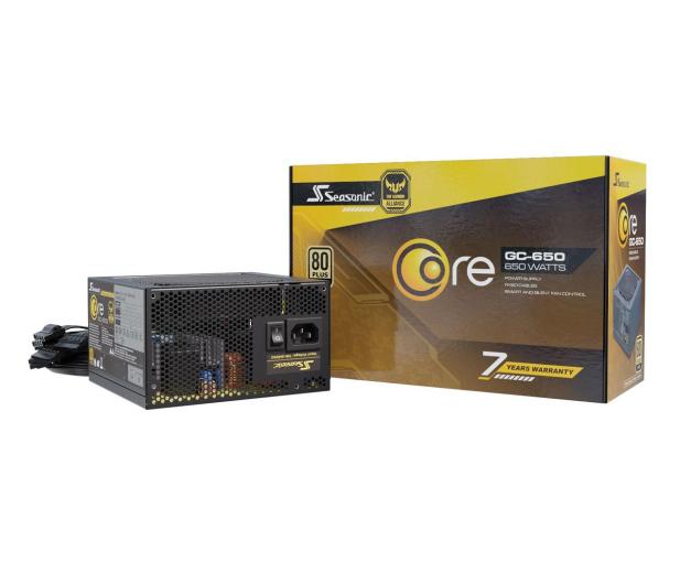 Seasonic Core GC 650W 80 Plus Gold - 514802 - zdjęcie