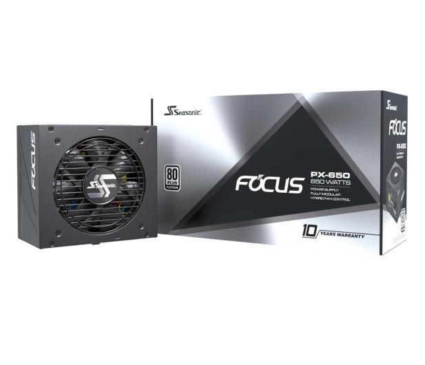 Seasonic Focus PX 650W 80 Plus Platinum  - 514786 - zdjęcie