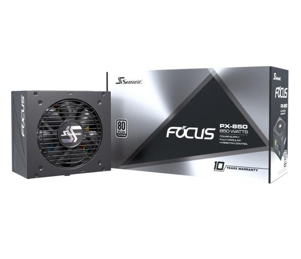 Seasonic Focus PX 850W 80 Plus Platinum  - 514783 - zdjęcie