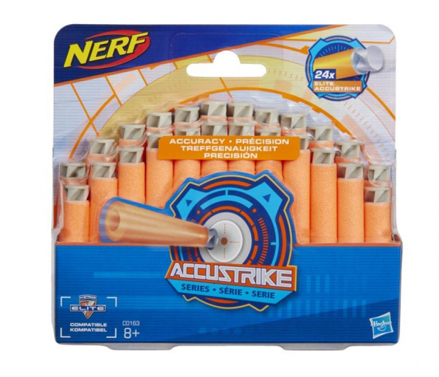 NERF N-Strike Accustrike 24 strzałki - 516669 - zdjęcie