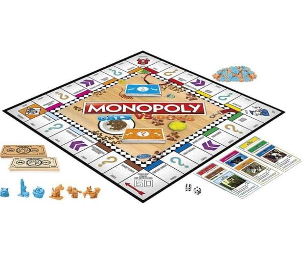 Hasbro Monopoly Koty kontra Psy - 516959 - zdjęcie 2