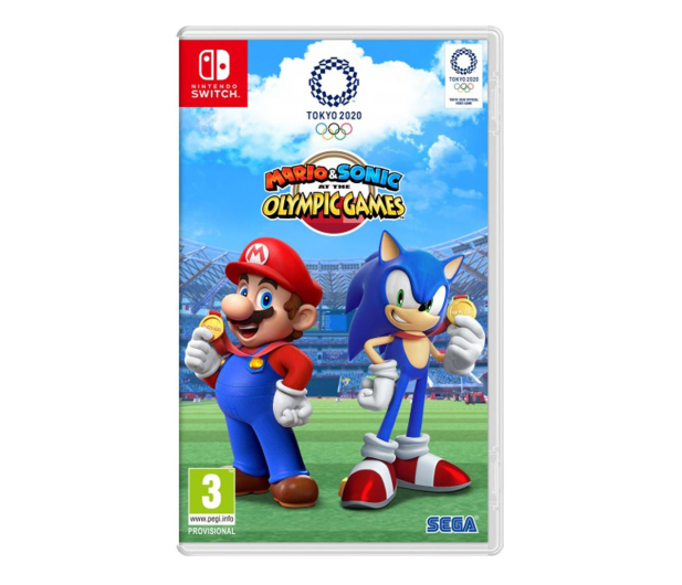 Switch Mario & Sonic at the Tokyo Olymp. Game 2020 - 516734 - zdjęcie