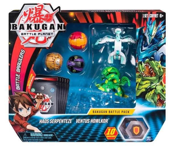 Spin Master Bakugan 5 Pack + Karty - 517397 - zdjęcie
