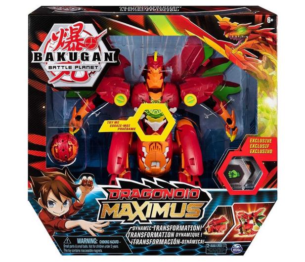 Spin Master Bakugan Smok Maximus - 517402 - zdjęcie 5