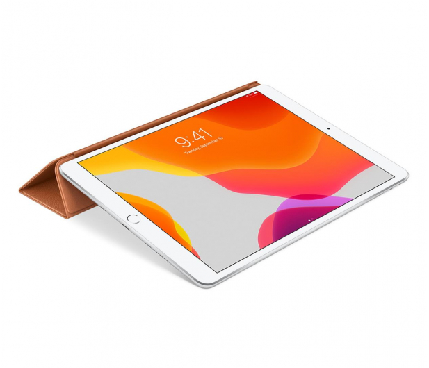 Apple Leather Smart Cover do iPad 7gen / Air 3gen brąz - 516287 - zdjęcie 4