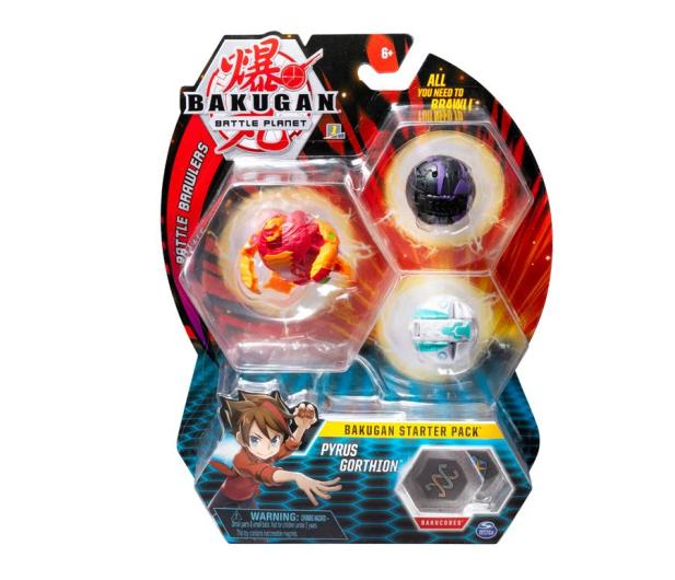 Spin Master Bakugan Zestaw Startowy - 517718 - zdjęcie