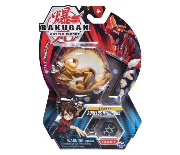 Spin Master Bakugan Kula Podstawowa Aurelus Hydorous - 517497 - zdjęcie