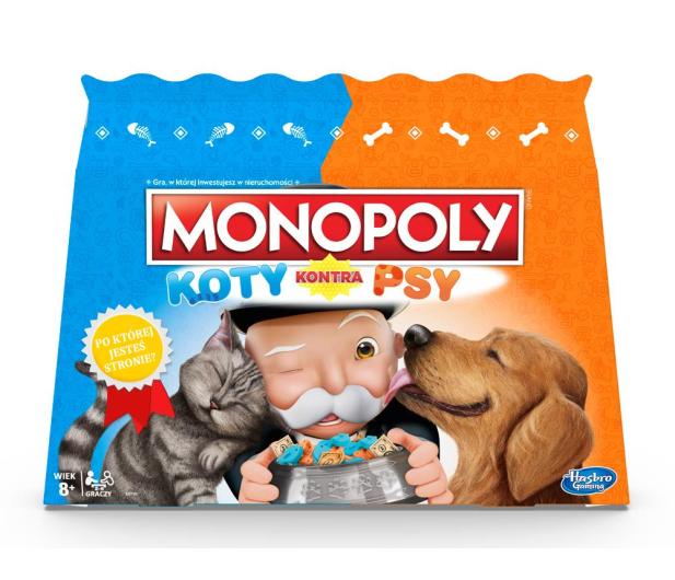 Hasbro Monopoly Koty kontra Psy - 516959 - zdjęcie