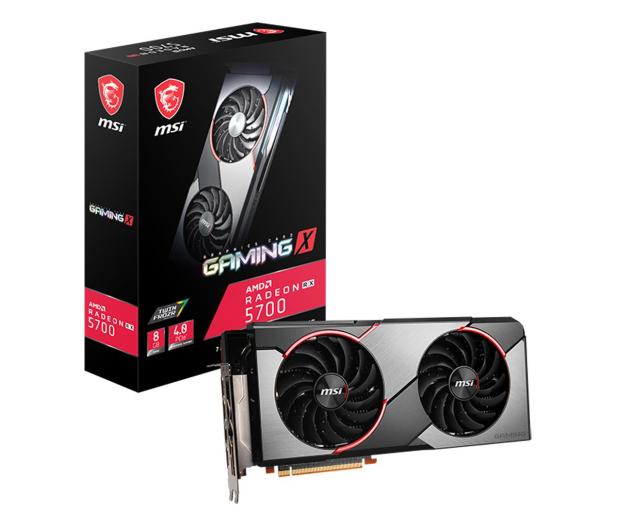 MSI Radeon RX 5700 GAMING X 8GB GDDR6 - 517865 - zdjęcie