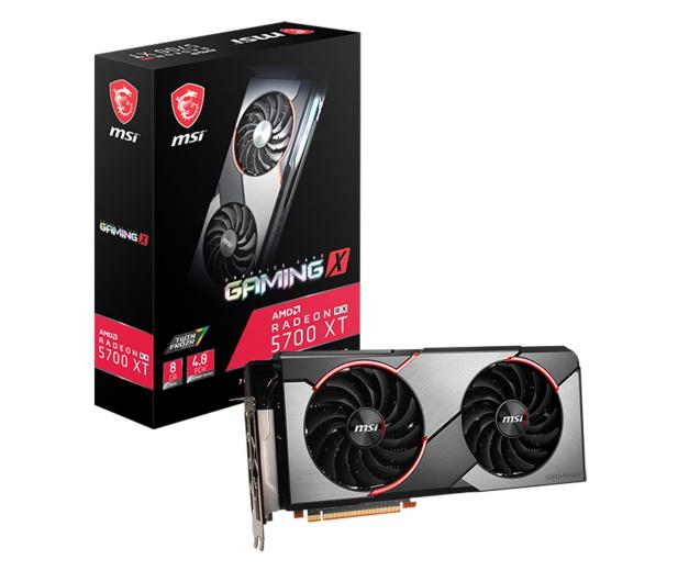 MSI Radeon RX 5700 XT GAMING X 8GB GDDR6 - 517866 - zdjęcie