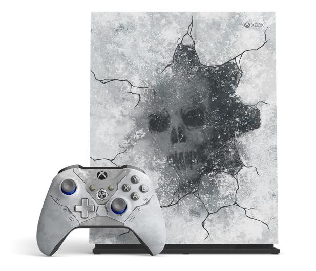 Microsoft Xbox One X 1TB Limited Ed. + GoW 5 + Fifa 20 - 518523 - zdjęcie 2