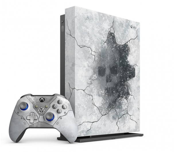 Microsoft Xbox One X 1TB Limited Ed. + GoW 5 + Fifa 20 - 518523 - zdjęcie 3
