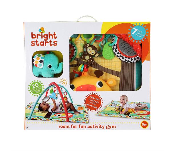 Bright Starts 2w1 Mata i Książka Przyjaciele z Dżungli 10905 - 462788 - zdjęcie 9