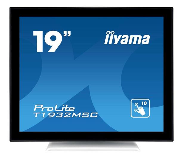 iiyama T1932MSC-W5AG dotykowy biały - 517982 - zdjęcie