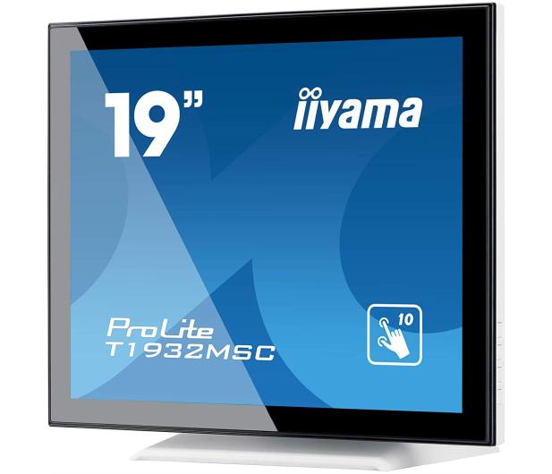 iiyama T1932MSC-W5AG dotykowy biały - 517982 - zdjęcie 3
