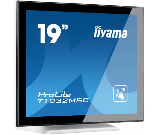 iiyama T1932MSC-W5AG dotykowy biały - 517982 - zdjęcie 2