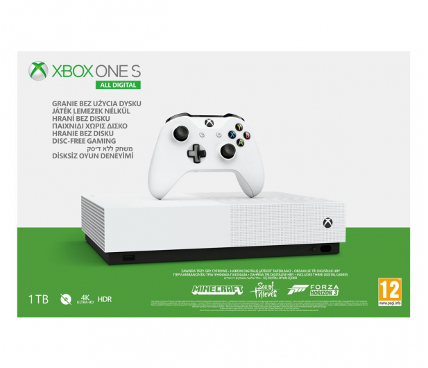 Microsoft Xbox One S 1TB All-Digital Edition - 514268 - zdjęcie 5