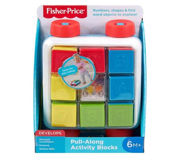 Fisher-Price Klocki aktywizujące do ciągnięcia - 539173 - zdjęcie 2