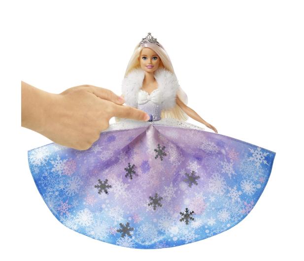 Barbie Księżniczka Lodowa magia - 539216 - zdjęcie 3