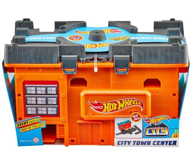 Hot Wheels Miejskie tory Zestaw w pudełku - 539285 - zdjęcie