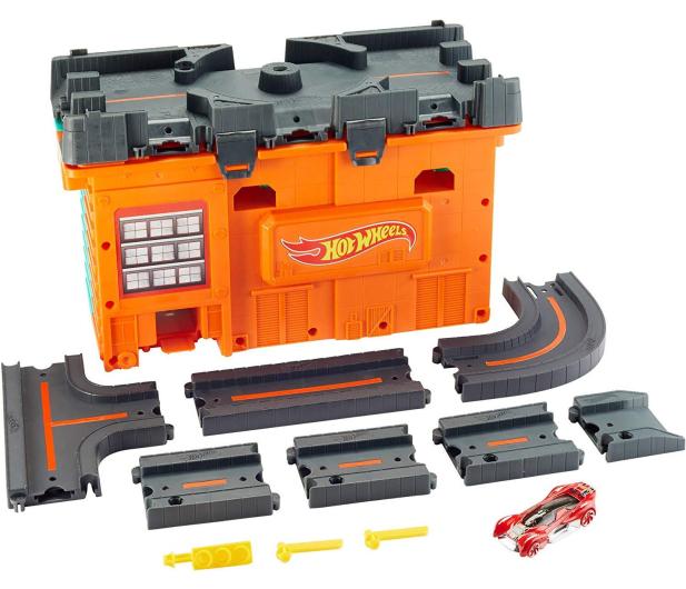 Hot Wheels Miejskie tory Zestaw w pudełku - 539285 - zdjęcie 2