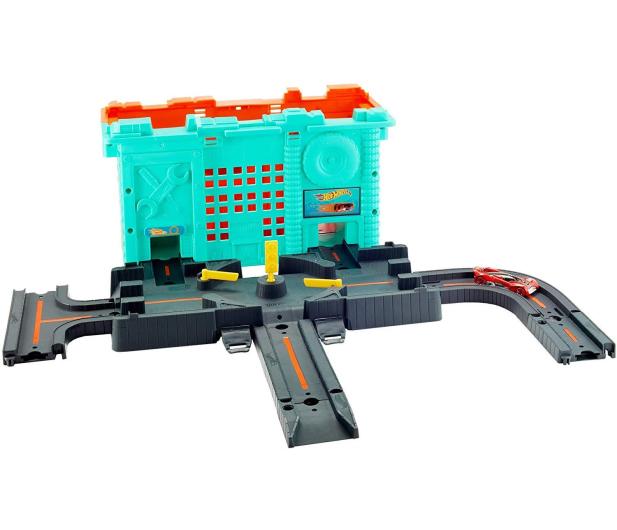 Hot Wheels Miejskie tory Zestaw w pudełku - 539285 - zdjęcie 4