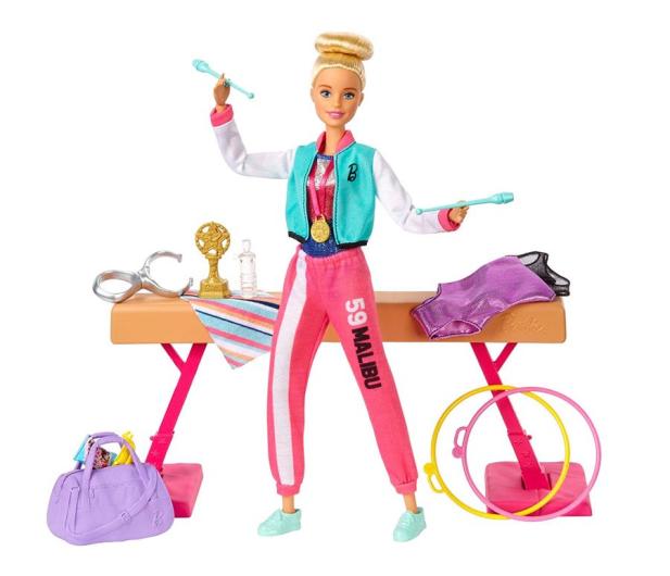 Barbie Gimnastyczka Zestaw - 539590 - zdjęcie