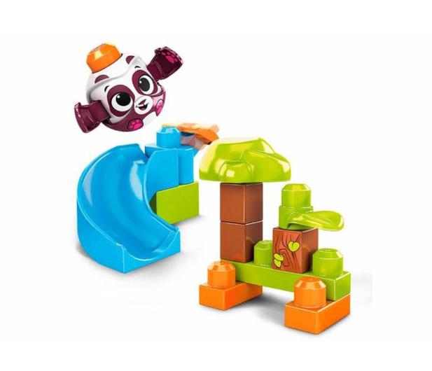 Mega Bloks Klocki A kuku Zjeżdżalnia + Panda - 539602 - zdjęcie