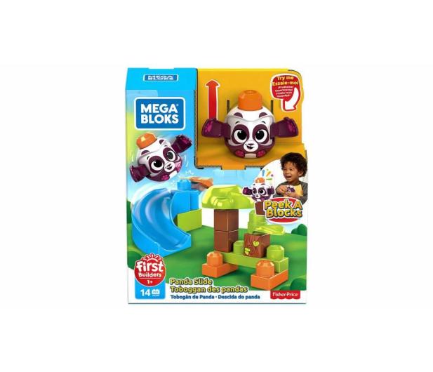 Mega Bloks Klocki A kuku Zjeżdżalnia + Panda - 539602 - zdjęcie 2
