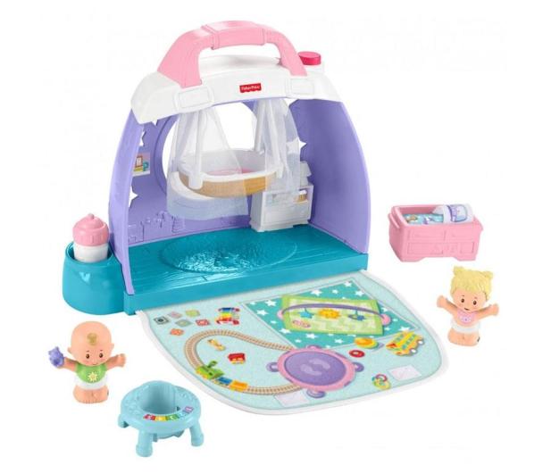 Fisher-Price Little People Pokoik dziecięcy - 540216 - zdjęcie