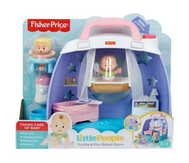 Fisher-Price Little People Pokoik dziecięcy - 540216 - zdjęcie 5