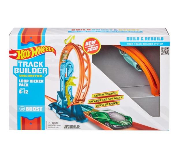 Hot Wheels Track Builder Zestaw do rozbudowy Pętla - 540763 - zdjęcie