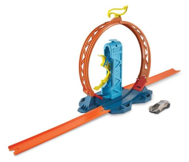Hot Wheels Track Builder Zestaw do rozbudowy Pętla - 540763 - zdjęcie 2