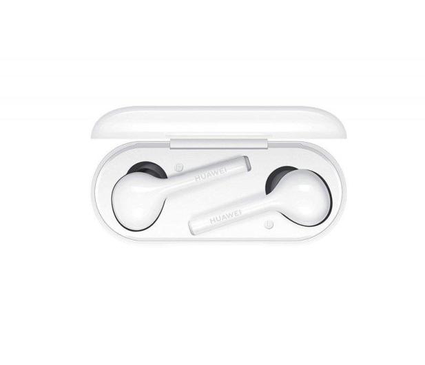 Huawei FreeBuds Lite białe - 492284 - zdjęcie