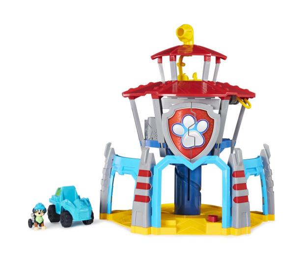 Spin Master Psi Patrol Dino Baza z windą Figurka Rex i pojazd - 1009993 - zdjęcie