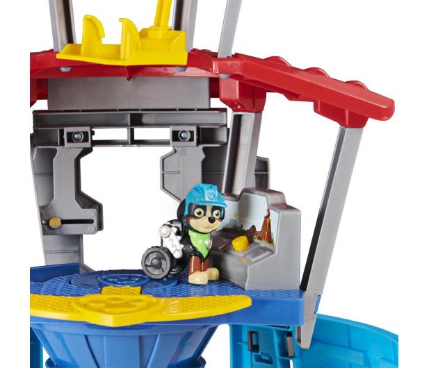 Spin Master Psi Patrol Dino Baza z windą Figurka Rex i pojazd - 1009993 - zdjęcie 3