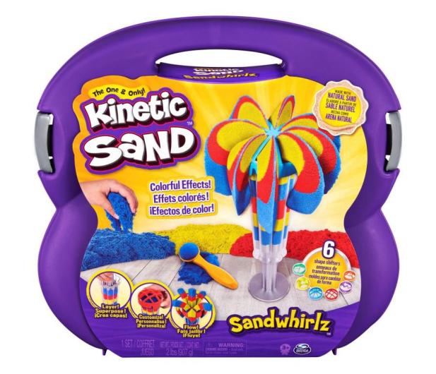 Spin Master Kinetic Sand Fontanna piasku - 1009882 - zdjęcie