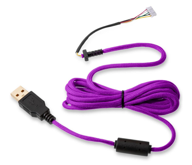 Glorious PC Gaming Race Ascended Cable V2 - Purple Reign - 595444 - zdjęcie