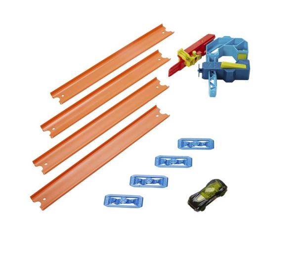 Hot Wheels Track Builder Zestaw do rozbudowy Zaczep z torem - 1010161 - zdjęcie 2
