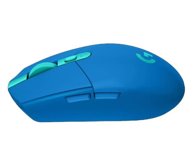 Logitech G305 LIGHTSPEED blue  - 597362 - zdjęcie 4