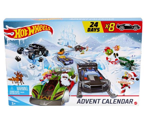 Hot Wheels Kalendarz adwentowy - 1009622 - zdjęcie